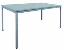 Mobilier de chantier : Table polyvalente grise