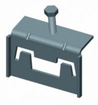 Accessoires communs aux gammes fil et tôle : Crapaud pour rail RPA