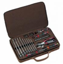 Composition d'outillage : Coffret cuir maintenance 48 outils - 100 ans