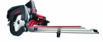 Scie circulaire : KSS 50 cc - hauteur de coupe à 90° - 58 mm - 1300 Watts + rail de guidage 1,60 m