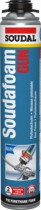 Joint : Mousse polyuréthane Soudafoam GUN pistolable
