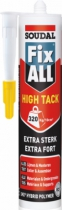 Colle : Mastic colle polymère hybride FIX ALL High Tack