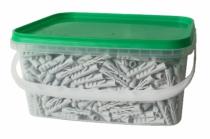 Fixation légère : Cheville nylon Condor sans collerette - matériaux pleins