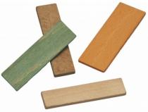 Calage : Cale de vitrage bois  - sachet de 1000 pièces