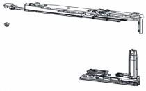 Ferrure Giesse aluminium pour gorge européenne : Kit OB FUTURA 170 invisible
