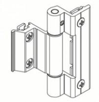 Paumelle PVC et aluminium : Paumelle en feuillure BRIDGE 2