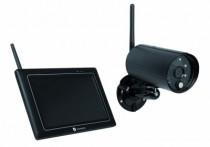 """Vidéo surveillance : Kit caméra sans fil + écran 7"""" 1080P"""