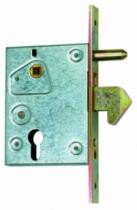 Ferrure pour portail coulissant : Serrure à crochet pour portail coulissant