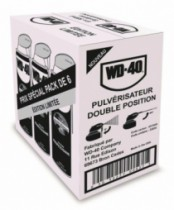 PACK 6X500ML WD-40 PRO + COUTEAU