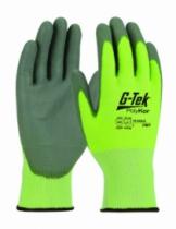 Gants contre les coupures : Gant tricoté PolyKor® enduit polyuréthane - niveau E