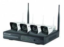 Vidéo surveillance : Kit vidéo surveillance IP Wifi - WIKIT080A