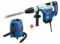 Perforateur SDS Max : GBH 5-40 DCE - 8.8 Joules + aspirateur GAS 20 L SFC