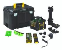 Laser de chantier : Laser rotatif automatique X700LG - vert