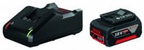 Batterie - chargeur - lampe électro-portatif : Pack 1 Li-ion 18V 4Ah + chargeur GAL18-40