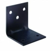 Connecteur métallique assemblage bois : Kit 10 équerres + 60 vis