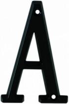 Accessoire de porte : Zamak noir mat