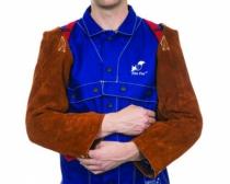 Protection soudeur : Manchette cuir avec harnais