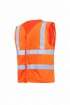 Vêtement de travail : Gilet haute visibilité ignifugé et antistatique