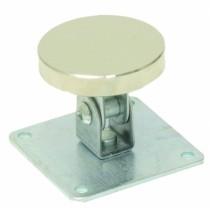 Ventouse électromagnétique anti-vandale : Contre-plaque articulee en acier