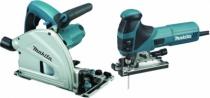 Pack machine sans fil : Kit scie sauteuse SP6000 + scie plongeante 4351CT + aspirateur offert