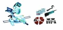 Scie à onglet : Kit scie radiale LS1018LN et découpeur TM3010CX3J