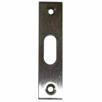 Serrure pour menuiserie métallique : Gâche auxiliaire plate