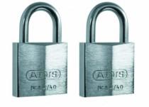 Cadenas à clés : Lot de 2 cadenas 84IB/40