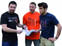 Vêtement de travail : Lot de 3 tee-shirts outils