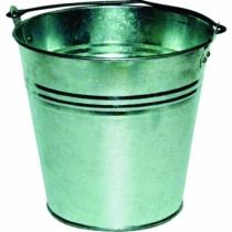 Outil de maçon : Seau tôle galvanisé