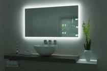 Profil pour miroir : Profil alu pour miroir mural éclairant