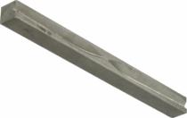 Accessoire pour bouton et béquille : Tige carré inox pour béquille applique de portail