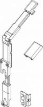 Ferrure Giesse aluminium pour gorge européenne : Renvoi d'angle