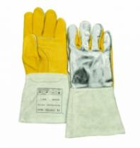 Protection soudeur : Gant alu manchette cuir STEERSOtuff®