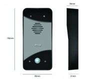 Interphone sans fil : Kit interphone ECO 603