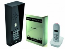Interphone sans fil : Kit interphone numerique sans fil avec clavier