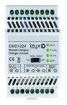 Alimentation et accessoire : Module chargeur rail DIN - pour alimentation série PSDX en 12 et 24 V