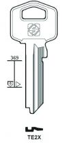 Cylindre européen 5 goupilles : Ébauche de clé Tesa