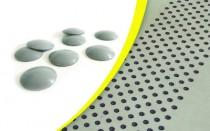 Accessibilité : Kit 200 pastilles podotactile auto-adhésive