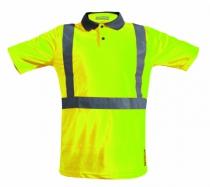Vêtement de travail : Polo Argon haute visibilité - classe II
