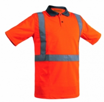 POLO ARGON HV ORANGE FLUO T.   S