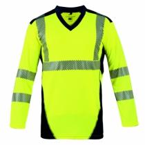 Vêtement de travail : Tee-shirt  Bali haute visibilité - classe II