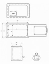 Coffre-fort : A clé 3 pênes Pierrefonds