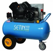 Compresseur d'air : Twinair - 100 litres - 20 m³/h 100 ans