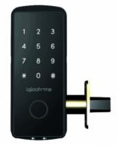 Verrou et serrure électronique autonome : Verrou électronique connecté - Smart Deabolt