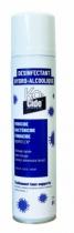 Droguerie : Désinfectant aérosol hydro-alcoolique