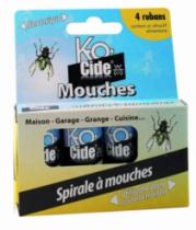 Droguerie : Spirales à mouches