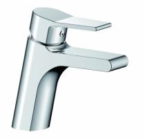 Robinetterie sanitaire domestique : Mitigeur de lavabo + vidage - modèle Eos