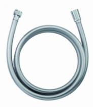 Robinetterie sanitaire domestique : Flexible PVC - lisse argenté