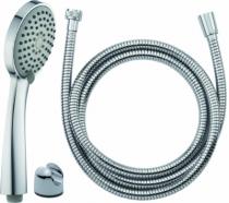 Robinetterie sanitaire domestique : Duo douchette + flexible - modèle Barca