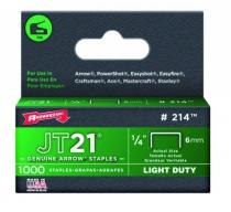 Agrafeuse : Agrafes pour agrafeuse JT21CM